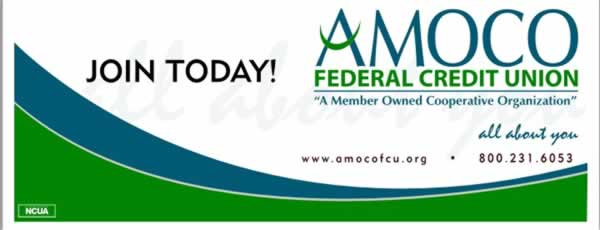 Amoco Federal Credit Union Banner